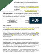 Règlement UFF NC
