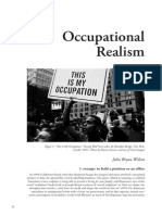 Occupational Realism