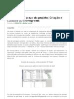 A Garantia Do Prazo Do Projeto_ Criação e Controle Do Cronograma _ PMKB _ Project Management Knowledge Base