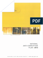 National Anti-Corruption Plan 2013