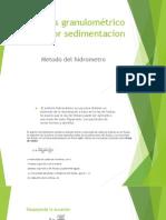 Analisis Granulométrico Por Sedimentacion