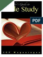 Bible Study Guide Icf
