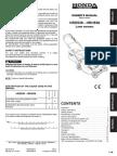 HRD536 - HRH536 Owners Manual