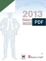 2013 FA Salary Guide en Singapore