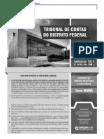Cespe 2014 Tc Df Tecnico de Administracao Publica Prova