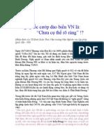 Về Việc Quốc Hội Việt Nam Không Ra