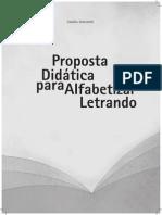 Miolo Proposta Didatica Para Alfabetizar Letrando 2013