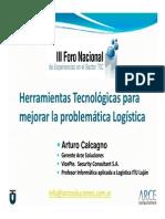 ForoTIC09 Logistica ARCE ArturoCalcagno
