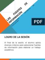 Sesion 8 Las Fuentes de Informacion