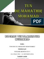 Dr Mahathir Slideeee