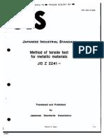 JIS-Z2241-1993