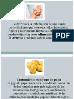 Alimentos Para Curar La Artritis - que es bueno comer