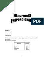 SEMANA 3 - Magnitudes Proporcionales