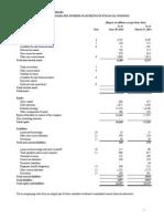 Consolidated Interim Financials Q1 - FY15