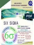 Green Belt 40 & 41 Brochure