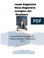 Classroom Cognitive and Metacognitive Strategies for Teachers_Revised_SR_09.08.10