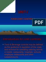 Cost Control I