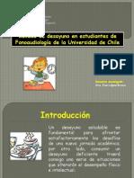 Calidad de Desayuno en Estudiantes de Fonoaudiología de La Universidad de Chile