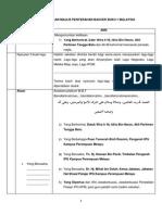Teks Pengacaraan Majlis Penyerahan Baucer Buku 1 Malaysia