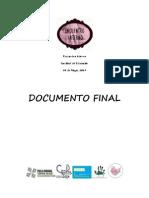 Documento Final - Encuentro Interno Educación UC 2014