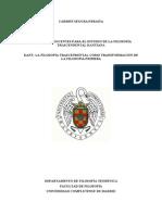 Kant Transformación Filosofía Primera