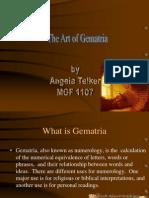 The Art of Gematria