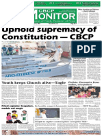 CBCP Monitor Vol. 18 No. 15