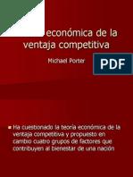 Teoría Económica de La Ventaja Competitiva
