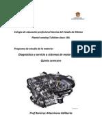 Diagnostico y Servicio a Sistemas Del Motor a Gasolina