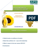 Sunflower Oil Ppt