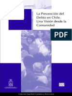 Plan de Prevencion Del Delito de Chile