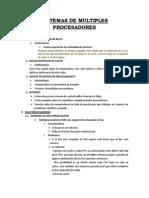 Sistemas de Multiples Procesadores