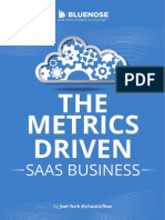 Bluenose the Metrics Driven SaaS Business