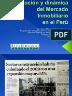 Evolucion y Dinamica Del Mercado Inmobiliario en El Peru
