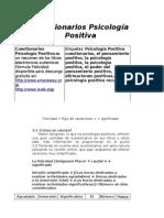 Cuestionarios Psicologia Positiva