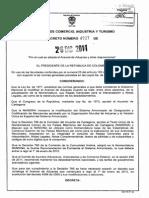 D4927-11 Arancel 2012