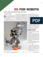 Sensor for Robot