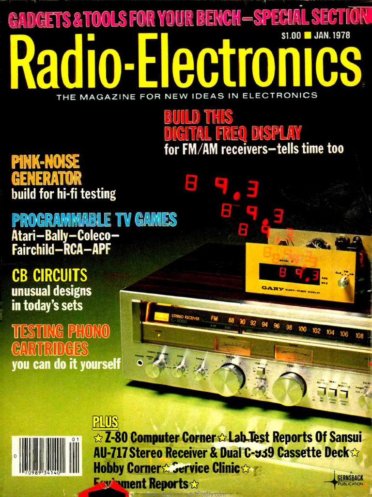 Re 1978 01 Television Telecommunication Upto 73 Op Amp Circuit Collection 8211 Pdf