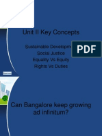 Social Justice in Bangalore City
