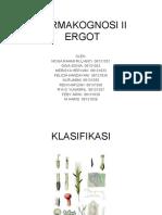 FARMAKOGNOSI II