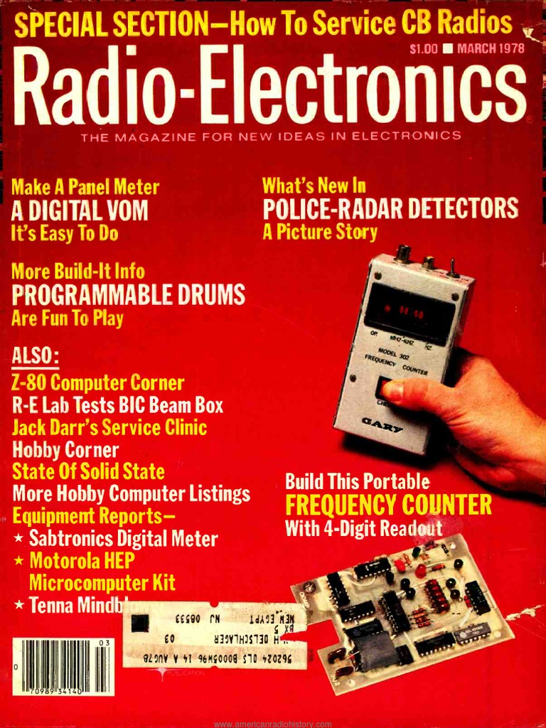 Re 1978 03 Am Broadcasting Microphone 12 Volt Two Wire Automotive Flasher Using An Lm3909 Chip Circuitry