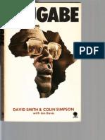 MUGABE Rare 1981 Book by David Smith Colin Simpson Zimbabwe Rhodesia