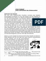 Kobbe Temporales Subjekt Und Paralogische Zeitlichkeit Des Unbewussten 2008