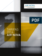 201407 Airnova Tarifa 2014