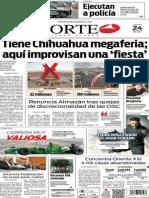 Periódico Norte edición del día 24 de julio de 2014
