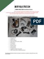 Navi Install Guide Bmw e90