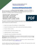 Hemodialysis Training by RENAP
