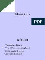 Mesotelioma