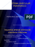Patologia Arterial Cronica y Aneurismas