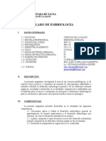 Silabo Embriologia 2012 Medicina (1)